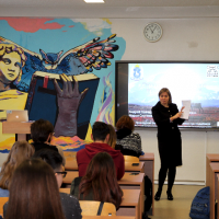 Educational/training courses in the Arctic regions for the school/college students  on Career Strategies in the Arctic (Naryan-Mar, Salekhard, Novy Urengoy, 2018)