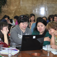 Advanced courses on Deviant Behavior Prevention among Youth in the Arctic   (Yakutsk, 2015)
