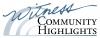 Witness Community Highlights