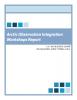 Arctic Observation Integration: Workshops Report