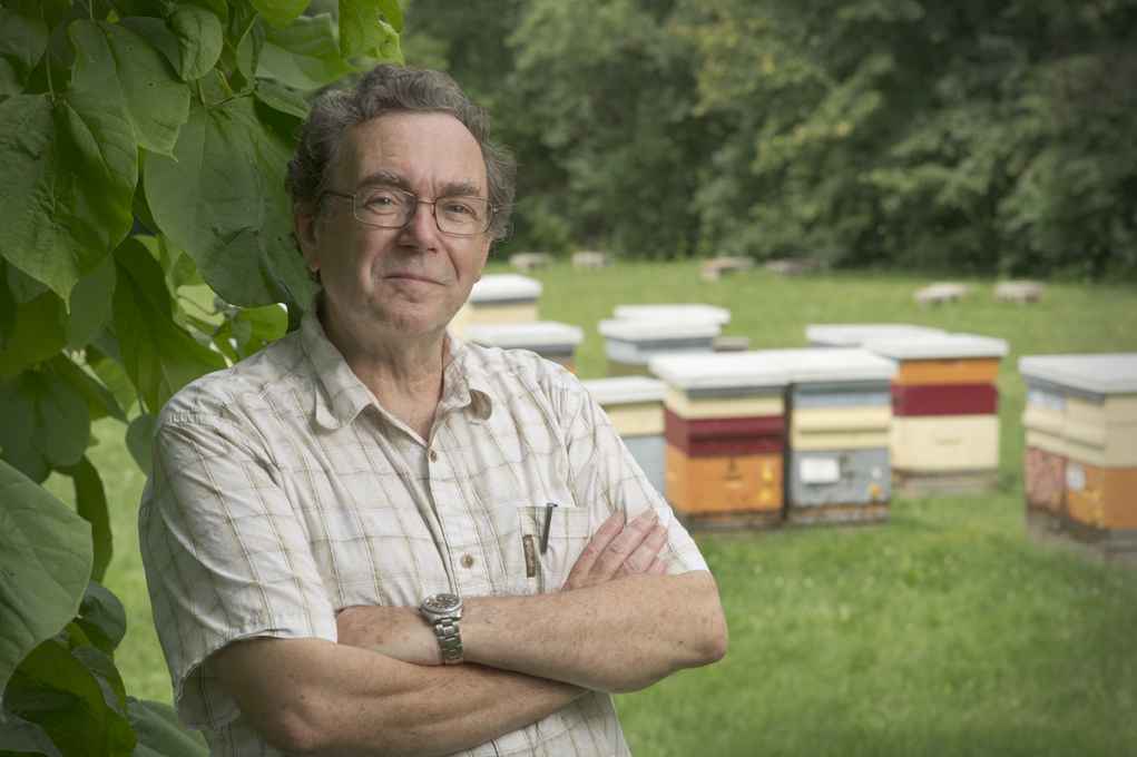 Peter Kevan of the School of Environmental Sciences